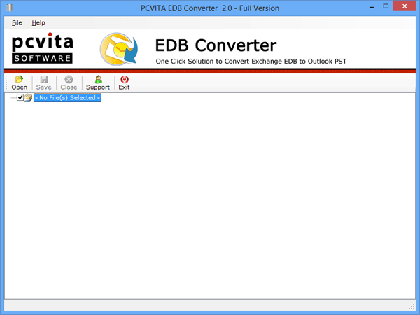 Select Single or Multiple EDB File(s)